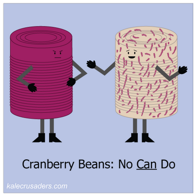 Cranberry Beans: No Can Do