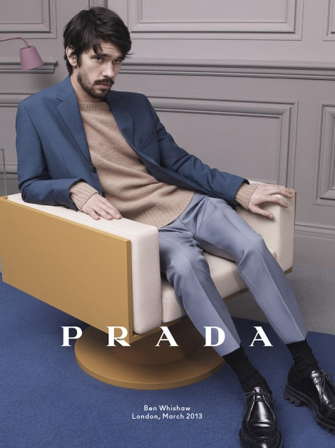 Ben Whishaw for Prada Fall Campaign