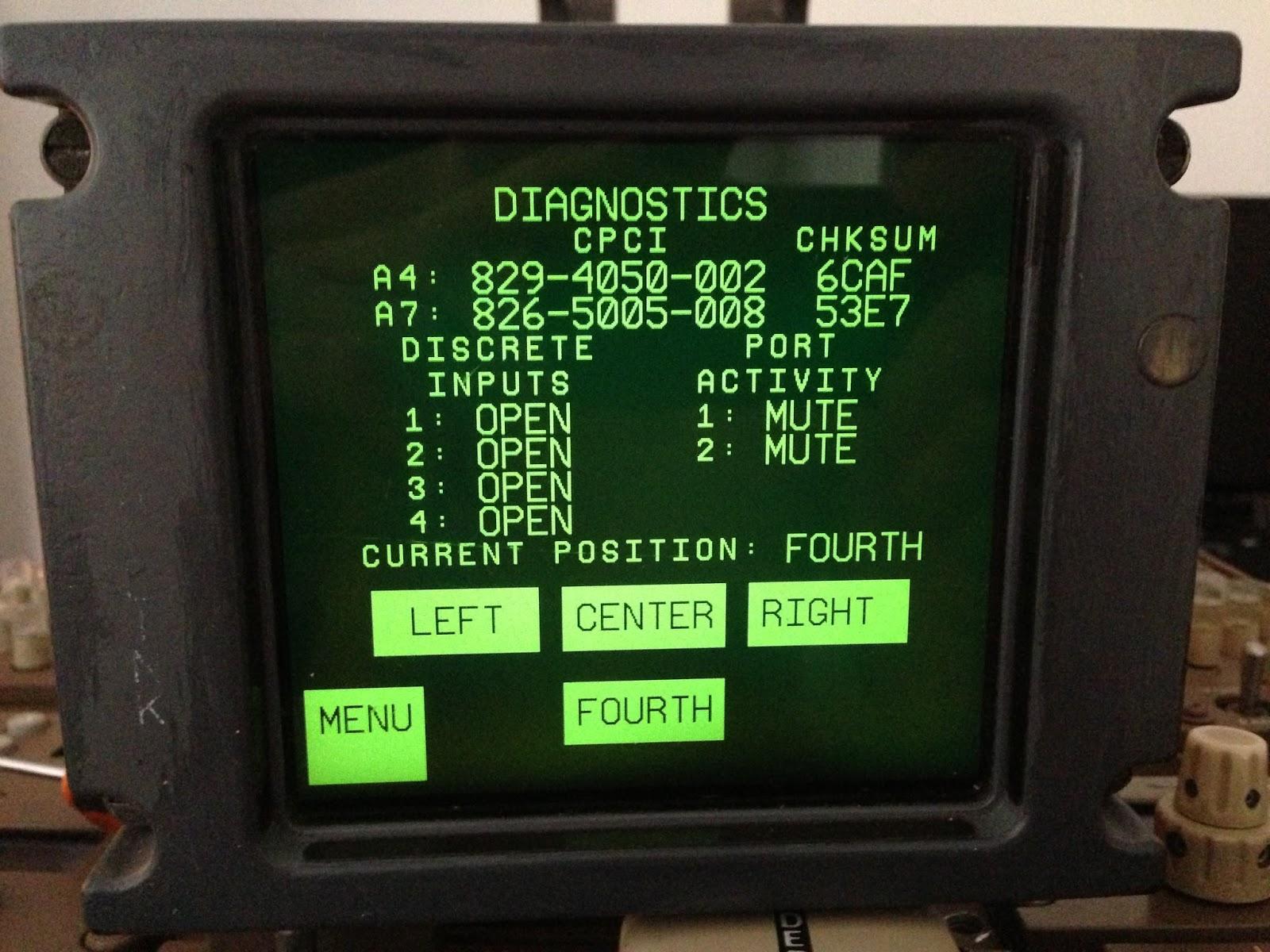 Boeing 767 Simulator Project Avionics bending ACARS