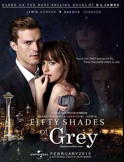 Trailer out now! - Fifty Shades of Grey