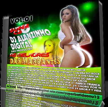 CD AS MELHORES DAS MARCANTE  DJ ALANZINHO DIGITAL  PRODUÇÕES (EDIÇÃO 2013)