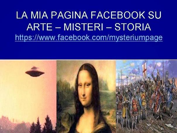 """https://www.facebook.com/mysteriumpage CLICCA """"MI PIACE"""" nella pagina. Dimostrerai l'interesse per"""