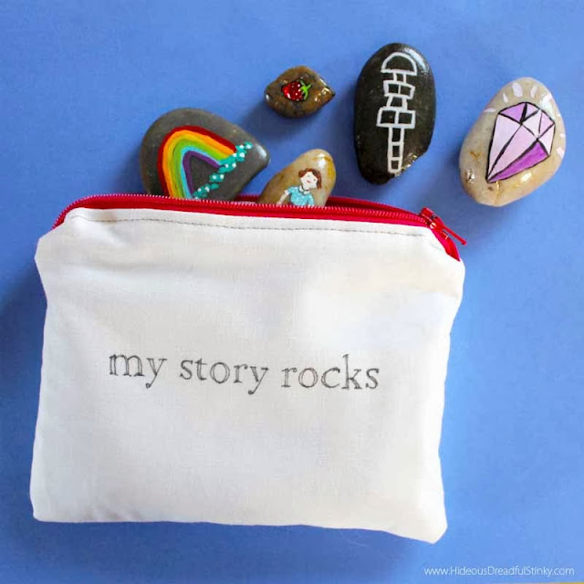 painted story rocks