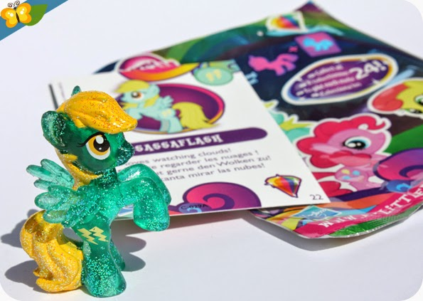 Figurine Sassaflash - My Little Poney - sachets mystère - série 10 - Hasbro