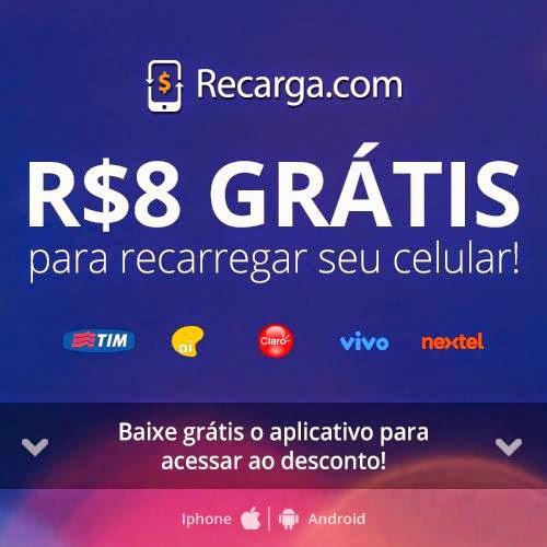 R$8 GRÁTIS