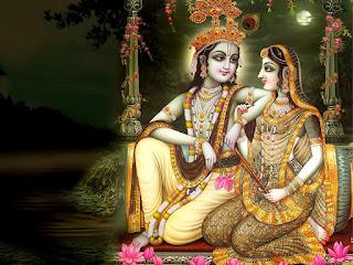 Radha and Krishna wishing happy janmashtami wallpapers
