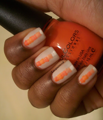 31DC2013 Day 2: Orange Nails