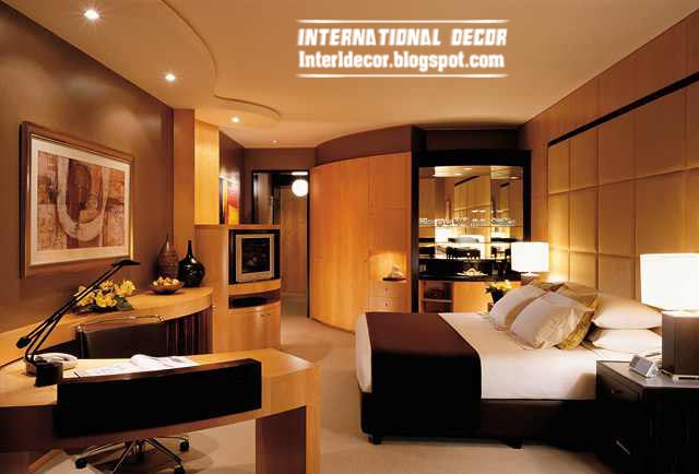 contemporary bedroom design ideas with modern furniture and decorations - Modern Bedroom Design Ideas