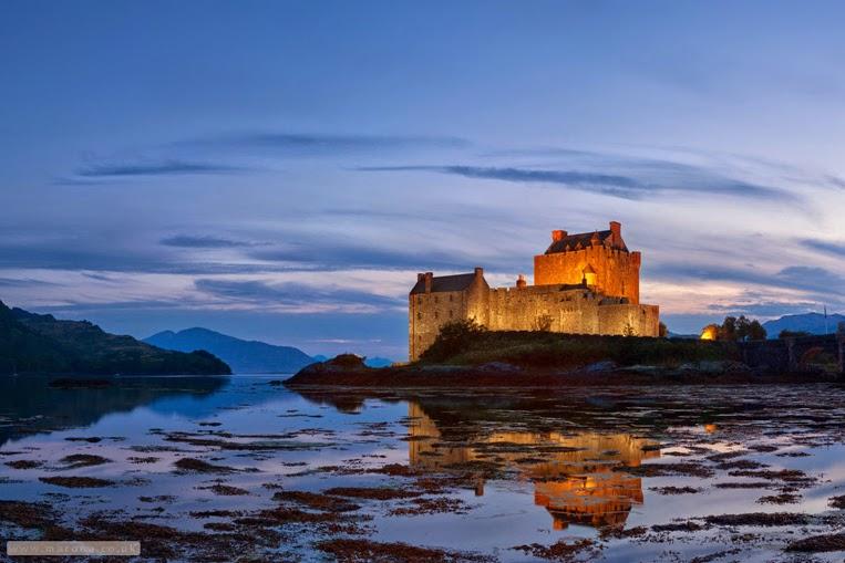 Reflections Eilean Donan Castle