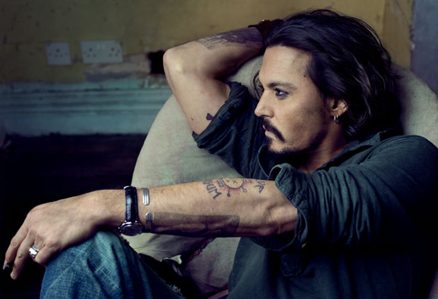 johnny depp 2012 