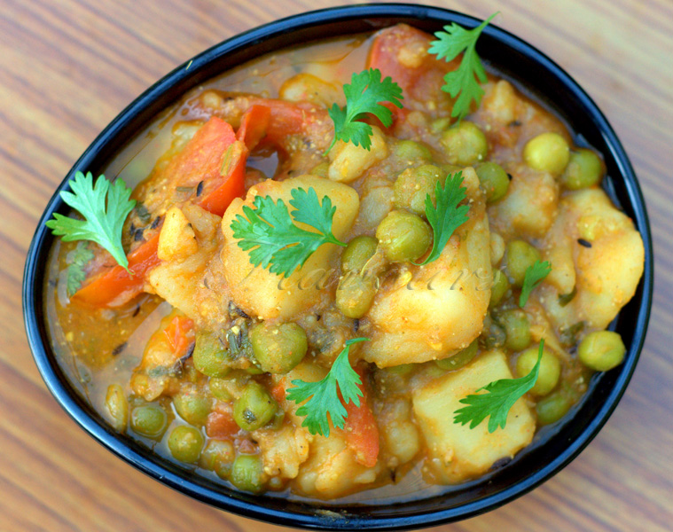 Flavours aloo mutter peas and potato curry without onion and garlic aloo mutter peas and potato curry without onion and garlic forumfinder Images