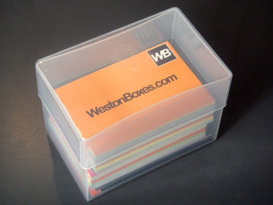 Plastic boxes storage solutions clear plastic business card boxes to hold 250 business cards colourmoves