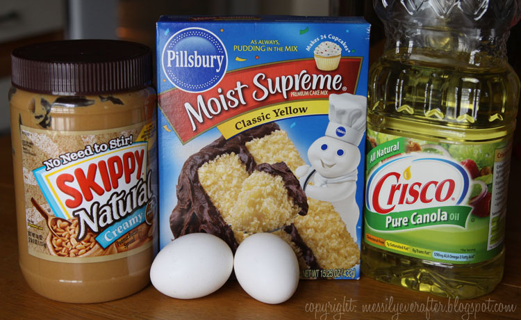 Cake mix peanut butter cookie recipe