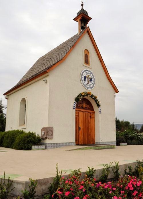 Santuario Jardín de María Reina al 5 de Mayo 2014