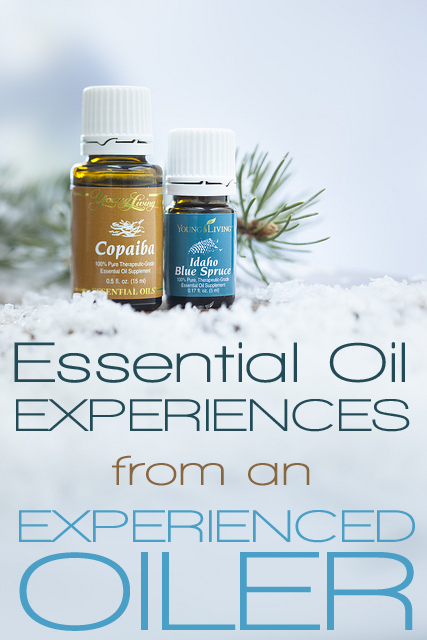 My personal essential oil experiences: