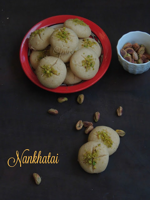 Nankhatai, Whole Wheat Pistachio Nankhatai