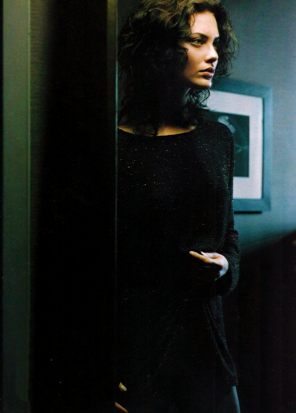 Shalom Harlow in Allure June 1997 (photography: David Lasnet, styling: Ricky Vider) via fashioned by love
