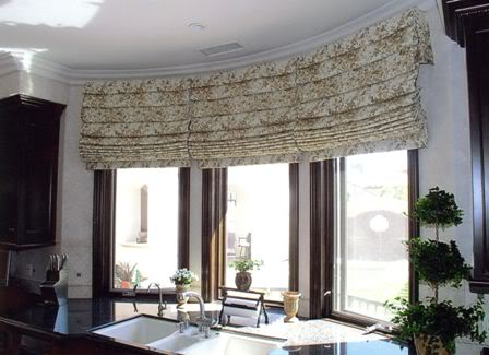 Decorating diva tips easy diy roman shades step by step for Roman shades bay window