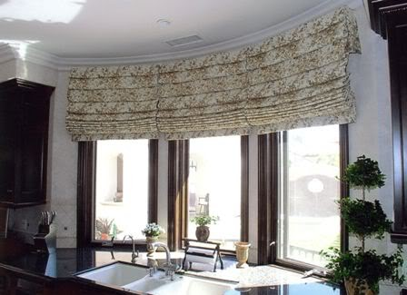 Decorating diva tips easy diy roman shades step by step for Roman shades for bay window
