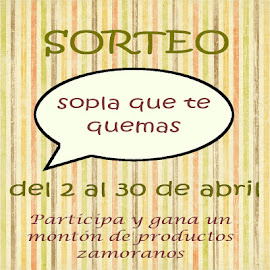 Sorteo en Sopla que te quemas