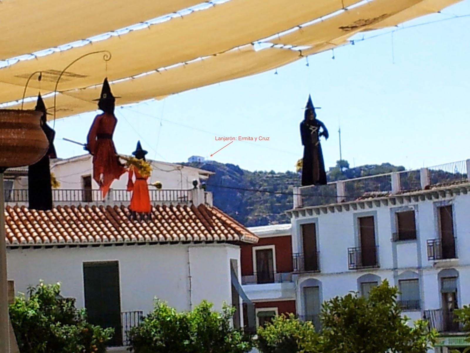 Brujas en el Tajo de la Cruz, Lanjarón
