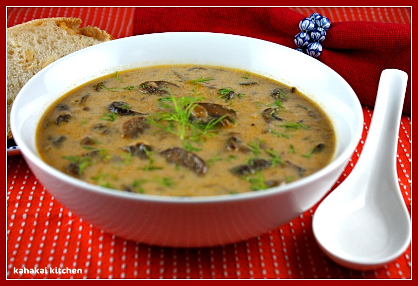 "Hungarian Mushroom Soup From ""The Vegan Slow Cooker"" for Souper (So..."