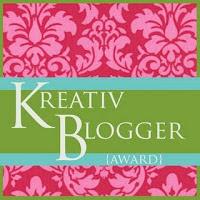 Βραβειο Kreative Blogger από την ImVaso