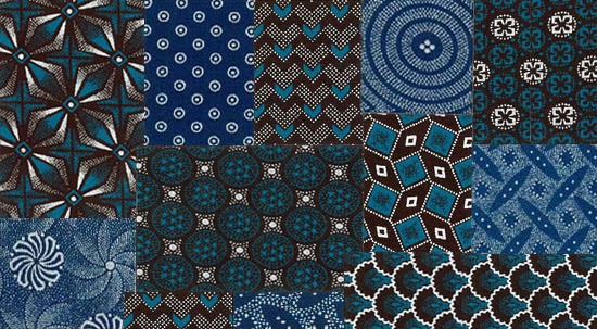 Safari Fusion blog | Moody blues | South Africa's unique Shweshwe fabric by da Gama Textiles