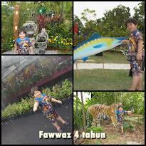 Fawwaz 4 tahun