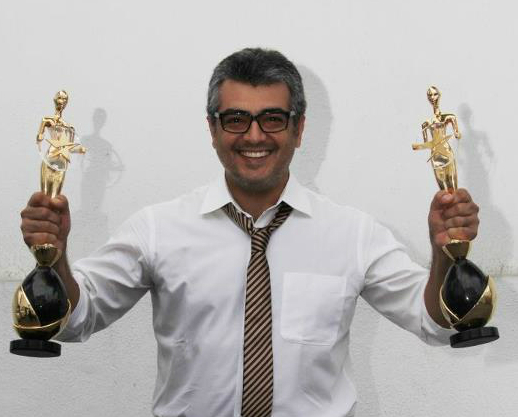 AJITH,VIJAY TV AWARDS