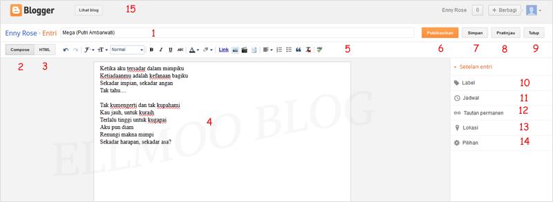 Post Editor Blogger