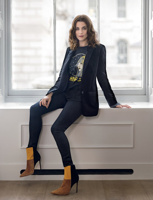 Actress, fashion Mode, @ Rachel Weisz - Mary McCartney photoshoot for Vogue UK