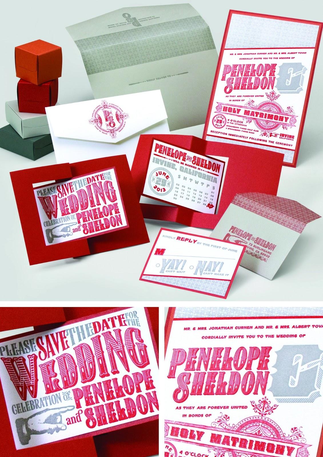 Destination Weddings - Envelopments Wedding Invitations