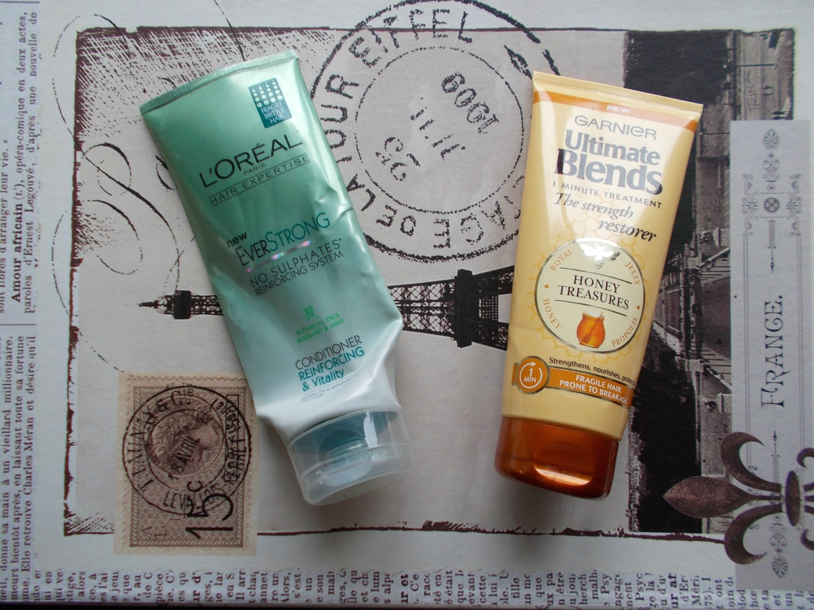 haircare empties reviews loreal garnier ultimate blends