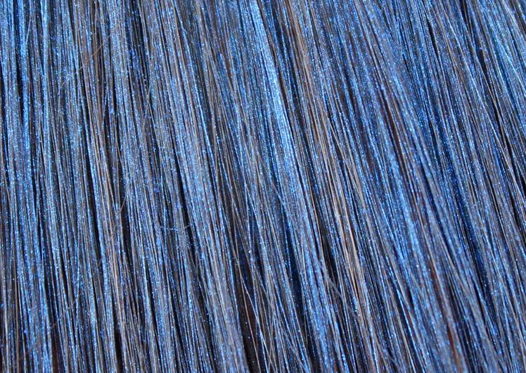 Голубая тушь для волос