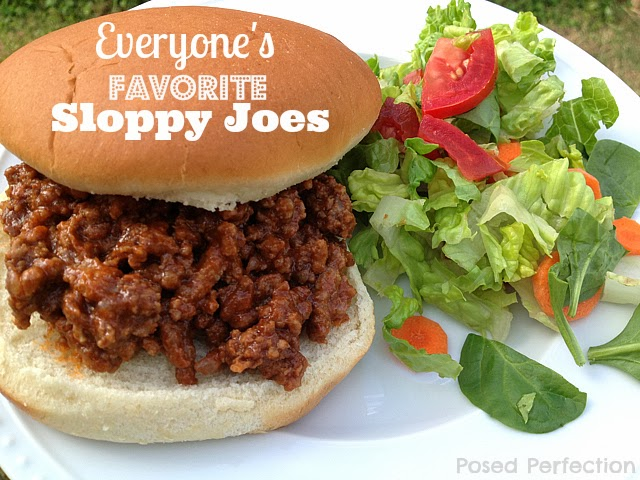 Everyone's Favorite Sloppy Joes