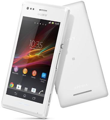 Handphone Sony Xperia M C1905 – 4 GB