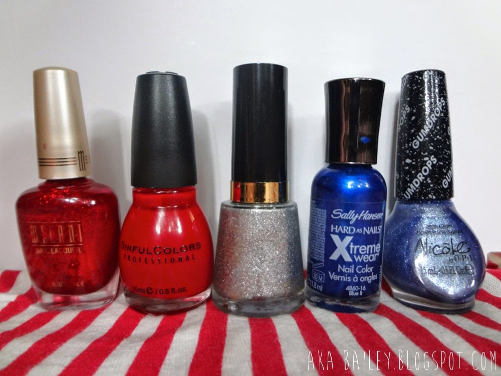 Ruby Jewels, Ruby Ruby, Diamond Texture, Blue It, Blue-Berry Sweet on You, Nail polish