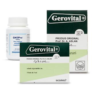 gerovital-h3 tablets