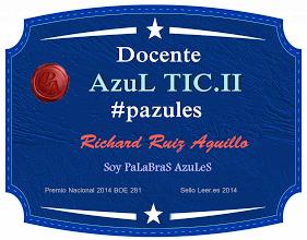 INSIGNIA AZUL TIC.II