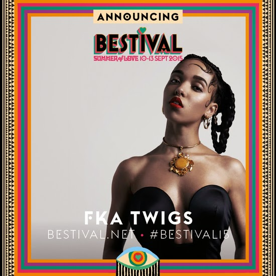 FKA twigs Bestival's Summer of Love 2015