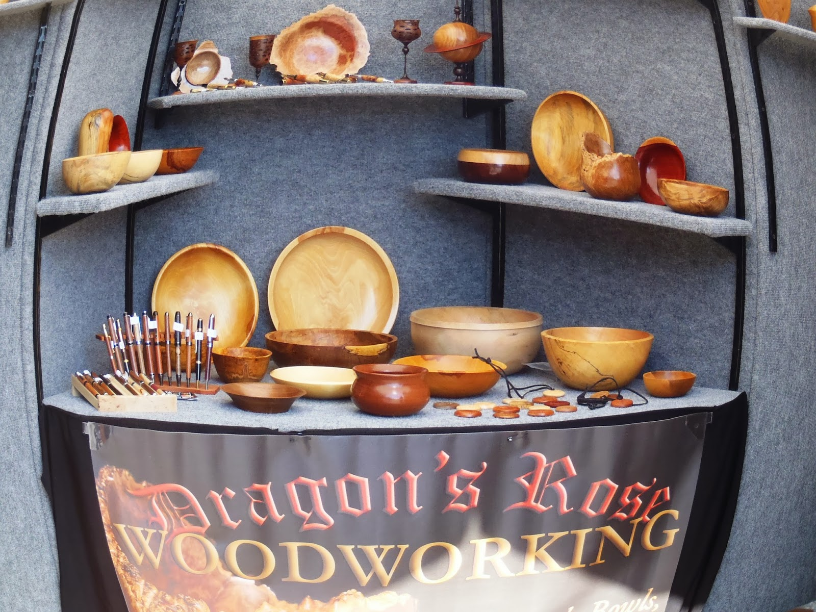 wooden bowls and crafts