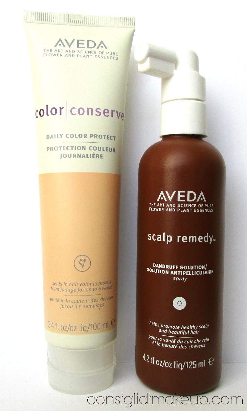 aveda scalp remedy spray color conserve trattamento senza risciacquo