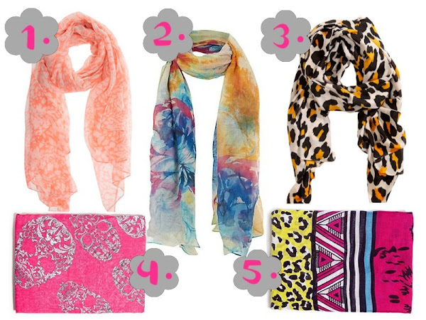 Summer Must Haves: Colour Pop Scarves