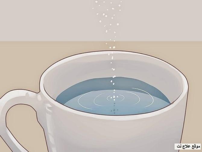 علاج التهاب اللثة بالماء والملح