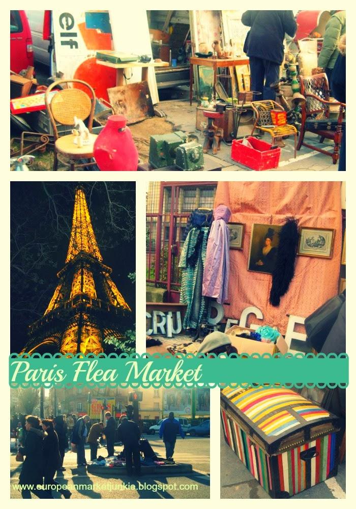 Paris- Porte de Vanves Flea Market 4 hour drive