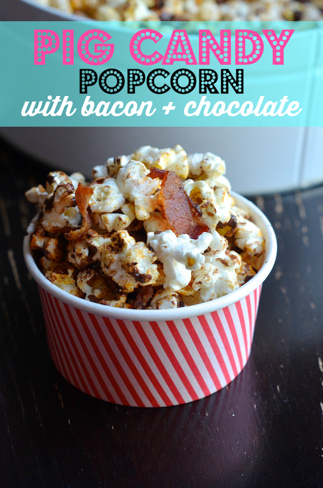 bacon chocolate popcorn recipe
