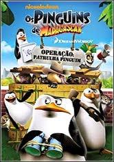 Filme Poster  Os Pinguins de Madagascar: Operação Patrulha Pinguim DVDRip XviD Dual Áudio & RMVB Dublado