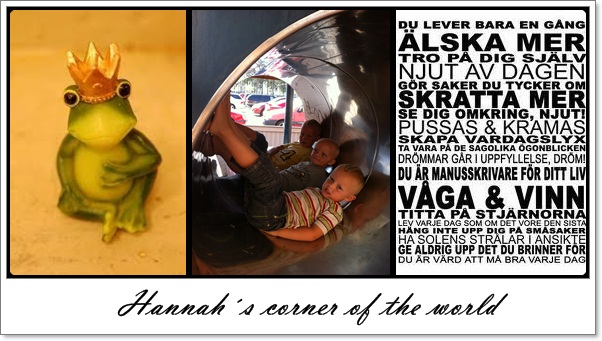 Hannah´s corner of the world
