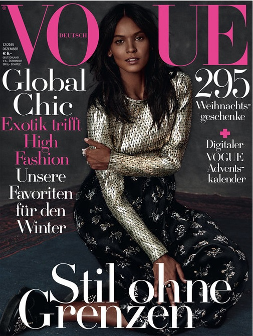 Actress, Model @ Liya Kebede by Giampaolo Sgura for Vogue Germany, December 2015